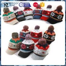 Principal producto nuevo diseño personalizado sombrero de invierno con buena oferta