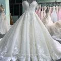 Роскошный новый дизайн с плеча Платье на заказ свадебные платья сайт novias Свадебные 2018