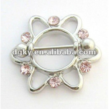 Nipple peircing body jewelry