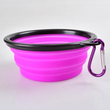 plastic FDA Standard round silicone food storage