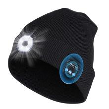 Chapéu LED Bluetooth para esportes noturnos