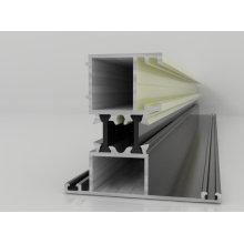 Mais vendidos 6063-T5 extrusão de alumínio / Perfis de alumínio industriais (BY-320) / perfil de alumínio para decorativo-6063