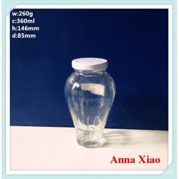 360ml Food Grade Glass Jars