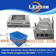 Zhejiang taizhou huangyan alimentos plásticos pescado almacenaje contenedor moldeado