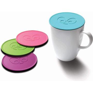 Capa de silicone para caneca de café sem BPA