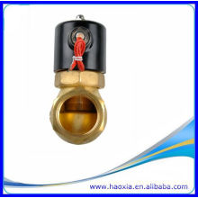 Válvula neumática de cobre amarillo DC24V del control de vapor del OEM y del ODM