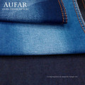 Tejido de mezclilla de algodón con revestimiento elástico para jeans