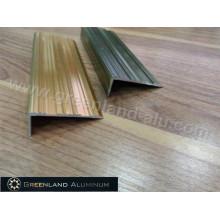 Tecido de perfil de alumínio com cor anodizada