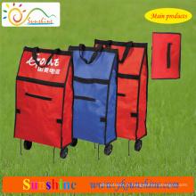 Trolley Sac à provisions pliable (XY - 415C)