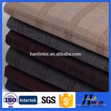 Tejido de lana worsted usan ropa de los hombres / tejido de lanas de alta calidad tr