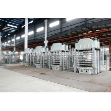 900 tonnes eva moussant press, presse mousse epdm