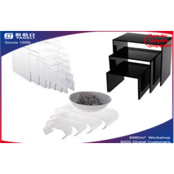 Wholesales Customers Acrylic Risers Display, Table Display