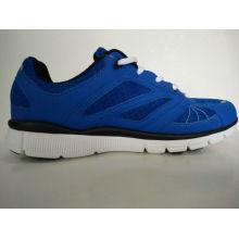 Blue Breathable Mesh Freizeit Schuhe für Männer
