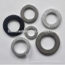 Acier inoxydable / carton acier Rondelle plate DIN125 F436 rondelle (M3-M100)