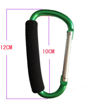 High Quality Aluminum Carabiner Shopping Carrier