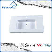 Rectangular Single Lever Artificial Marble Sink Tops Acb0806
