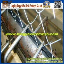 Galvanized Diamond Mesh Cheap Removable Chain Link Fence
