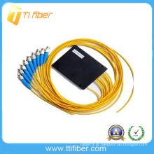 Fibra óptica do preço do OEM separador PLC 1x8