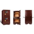 Double alarm safe electric digital safes