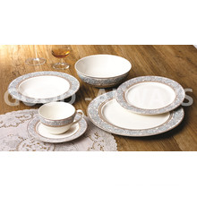 Gold 6-Piece Place Set New Bone China