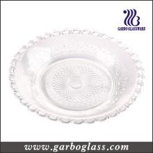 Plateau à pain en verre décoratif de 30 cm (GB2301ZZ-1)