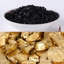 Le carbone de noix de coco activé par qualité supérieure dans l'exploitation d'or à vendre