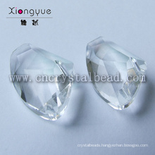 Irregular Shaped Facets Crystal Beads For Jewelry Parts