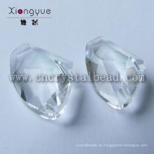 Irregular em forma de grânulos de cristal de facetas para peças de jóias