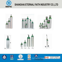 10L High Pressure and Portable Aluminum Oxygen Gas Cylinder