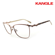 2017 Fashion meta loptical frames women spectacles glasses
