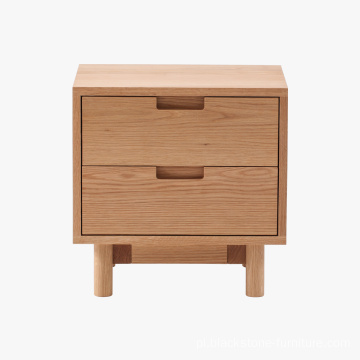 Meble drewniane 2DRW Wood Nightstand Chest