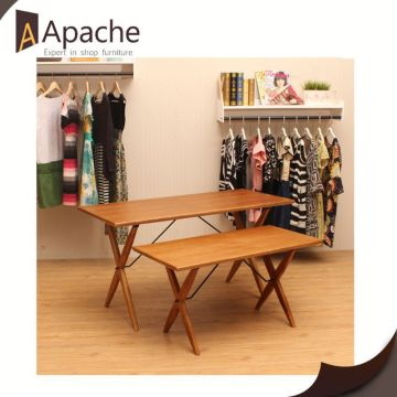 Hot selling factory directly display furniture and decoration for ladies dress shop