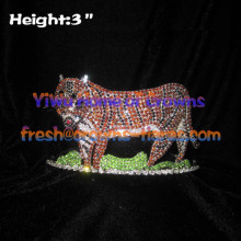 3inch Tiger Animal Pageant Crowns