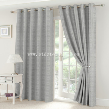 Latest linen window curtains WQP045-1