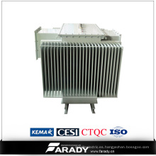 Transformador sumergido del tipo de aceite de potencia 11kv 33kv