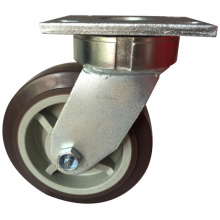 Industrial Low Gravity Super Heavy Duty PU Swivel Caster and Castor