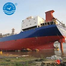 cargaison de lancement airbag en caoutchouc pour les docks navire rouleau airbag