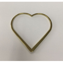 Liquid Metal Jewelry Accessories Heart Shaped
