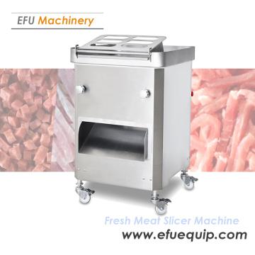 Máquina de fatiar carne fresca