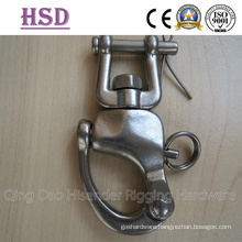 Stainless Steel Shackl with Jaw Swivel