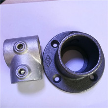 Hot galvanized/ black malleable iron key clamp