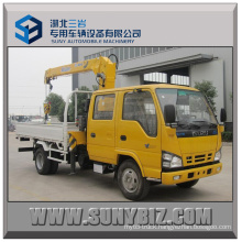 3.2tons XCMG Crane Isuzu 600p 4X2 Truck Mounted Crane