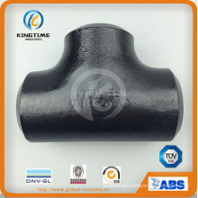 High Quality ASME B16.9 Butt Welded Tee Fitting Carbon Steel Pipe Fitting (KT0297)