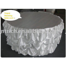 White Wedding Table Cloth