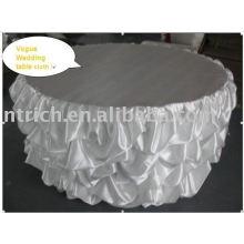 Toalha de mesa de casamento branco