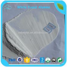 Pó de corindão branco abrasivo com alumínio fundido branco para refratário