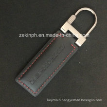 Fashion Metal and Leather Key Chain
