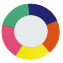 Marcador de círculo de 5 cores (LY-045), caneta de presente