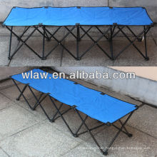 600D polyester 4 seats folding bench