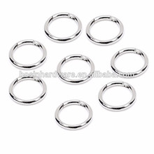 Hot Sell High Quality Metal Nickel Spring Gate Ring